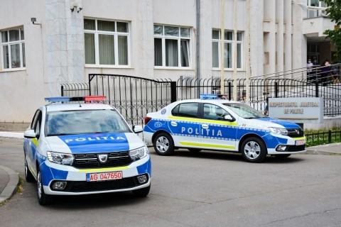 20 de autospeciale noi in dotarea Inspectoratului Judetean de Politie Prahova