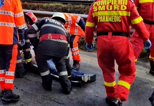Accident teribil la Nistoresti: 5 morti si alte 2 persoane ranite; trafic blocat