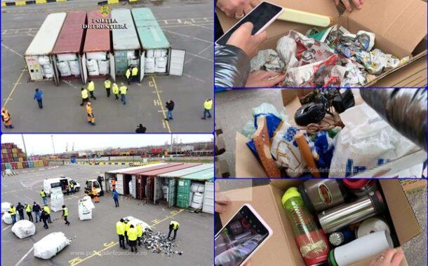 Firma din Prahova, in vizorul Politiei de Frontiera pentru… IMPORT ILEGAL de deseuri