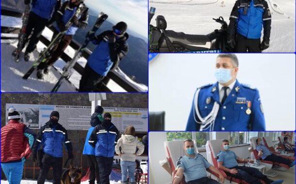 """""""LA MULTI ANI"""" celor cu sangele """"bleu jandarm"""" in vene. Mesaj impresionant pentru jandarmii prahoveni"""