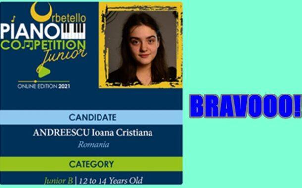 """Colegiul de Arta """"Carmen Sylva"""" din Ploiesti- reprezentat la concursuri nationale si internationale de o pianista din clasa a VI-a"""