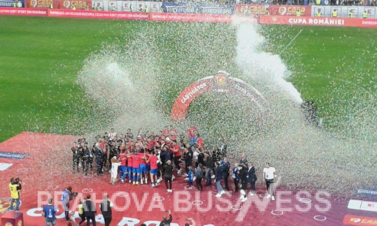 Video si Galerie foto PHB de la primul meci cu spectatori dupa 14 luni: finala Cupei Romaniei de la Ploiesti