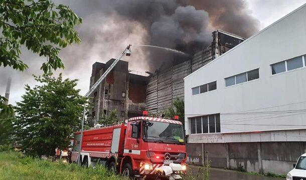 UPDATE: Persoana carbonizata gasita in urma incendiului de la la Eco Burn