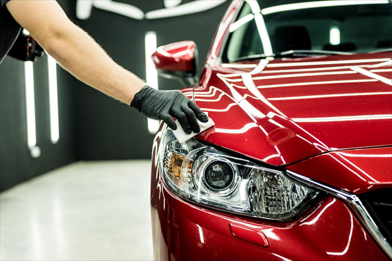 Ingrijirea autoturismului cu ajutorul produselor profesionale (P)
