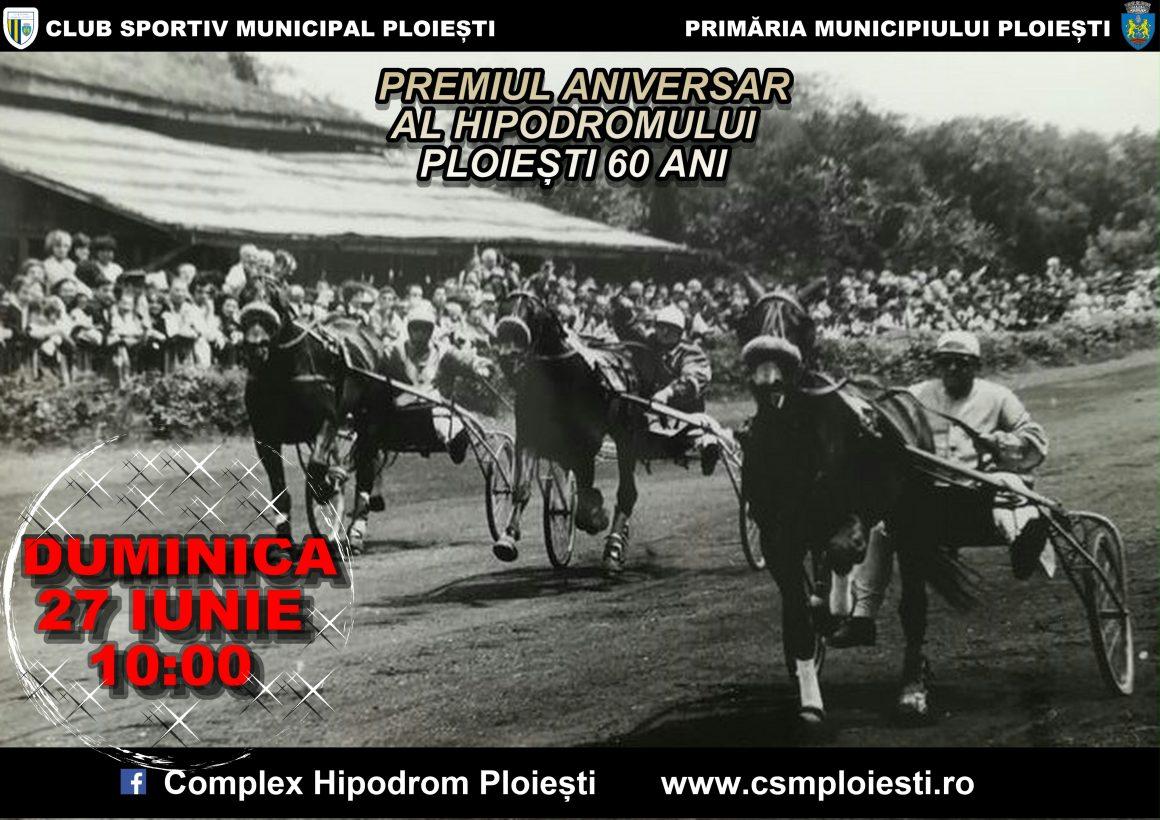 Reuniune de gala la Hipodromul Ploiesti: 60 de ani de la prima cursa hipica