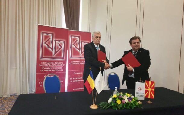 Presedintele CCI Prahova, Aurelian Gogulescu, la Forumul Economic Macedonia de Nord-Romania