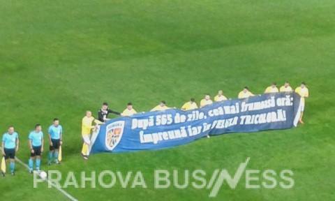 Romania-Georgia 1-2 la Ploiesti; cum a fost primit Budescu de catre fanii Petrolului