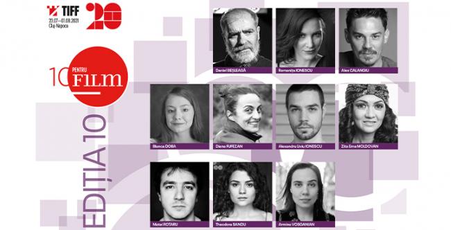 Actor de la Teatrul Toma Caragiu Ploiesti, nominalizat in cei 10 actori ai programului 10 pentru FILM