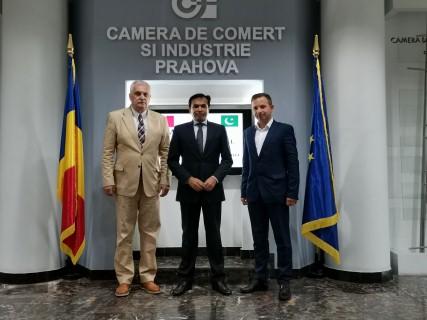 Ambasadorul Pakistanului, la CCI Prahova
