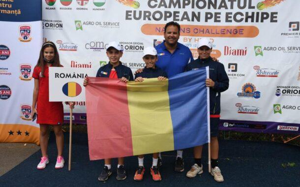 Eric si Stefan Nita, decisivi in victoria Romaniei in CE pe echipe – Nations Challenge U12 din calendarul Tennis Europe