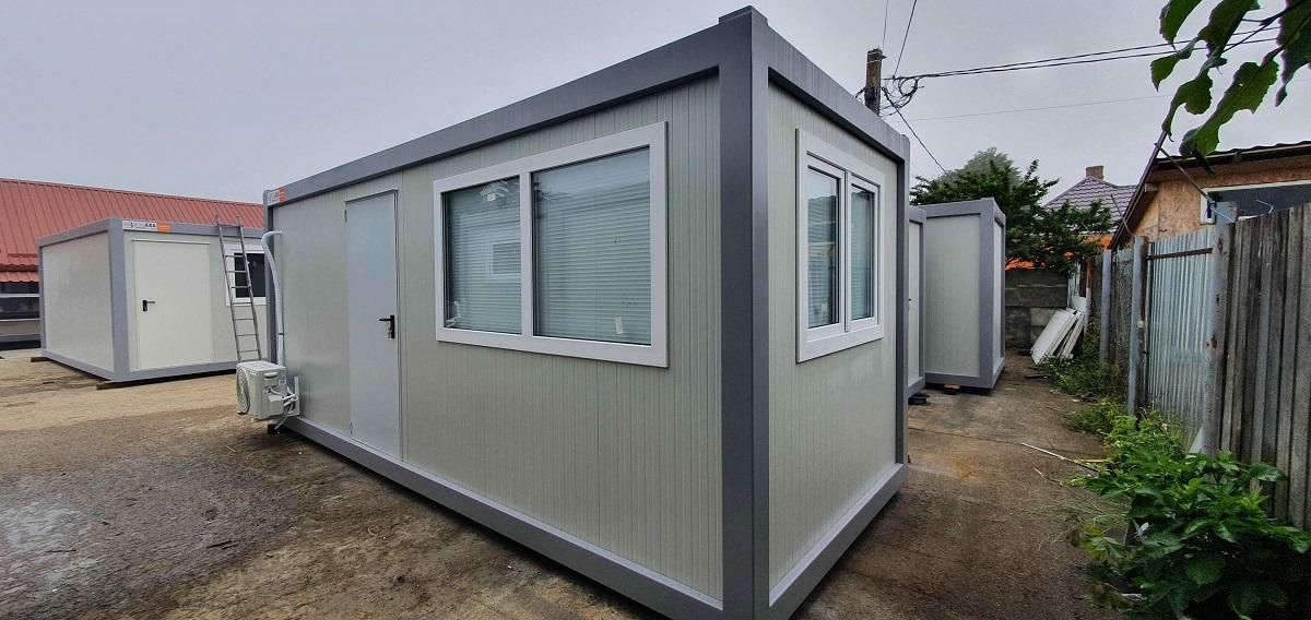 Containere modulare pentru spatii de birouri indiferent de domeniul de activitate (P)