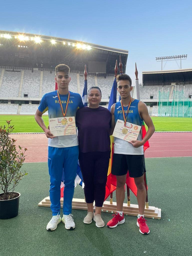 Trei medalii pentru CSS Ploiesti la Campionatele Internationale de atletism ale Romaniei