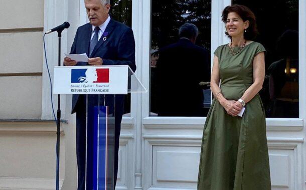 """Preluare de pe website-ul Ambasadei Frantei in Romania, rubrica """"Action diplomatique"""""""