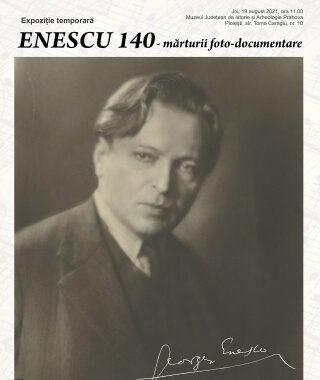 Expozitie Enescu 140 – marturii foto-documentare