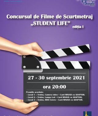 Prima editie a Concursului de filme de scurt metraj Student Life, organizat de Casa de Cultura a Studentilor Ploiesti