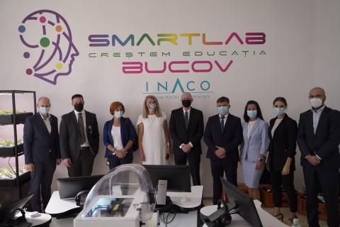 Prima scoala de stat din Romania cu un SmartLab este in comuna prahoveana Bucov