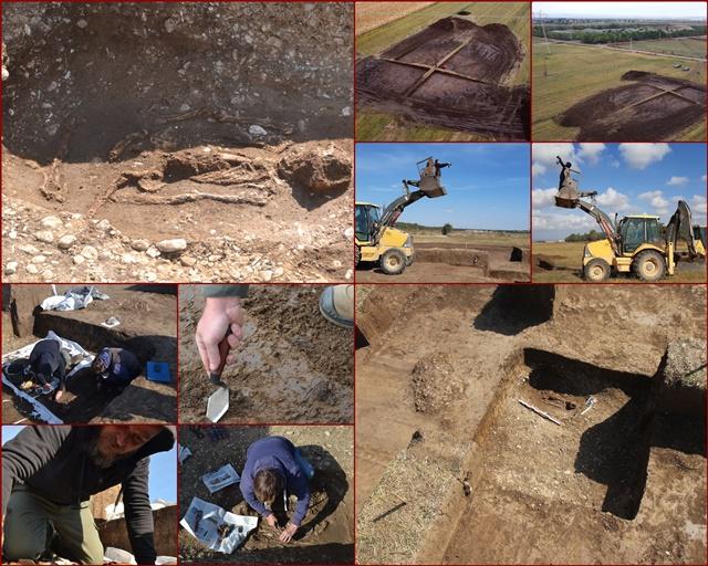 Targsoru Nou: Tumul de la inceputul Epocii Bronzului, cercetat de o echipa a Muzeului Judetean de Istorie si Arheologie Prahova